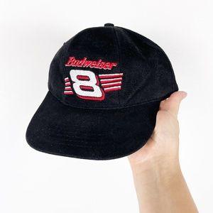 Budweiser Nascar Black Snapback Hat